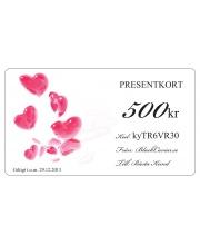 Presentkort - Elegant Kärlek